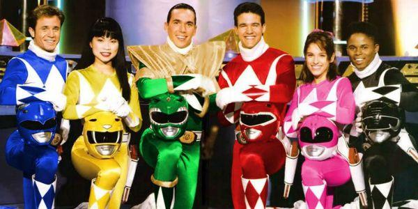 Mighty Morphin Power Rangers TV Show. Haim Saban, Shuki Levy.